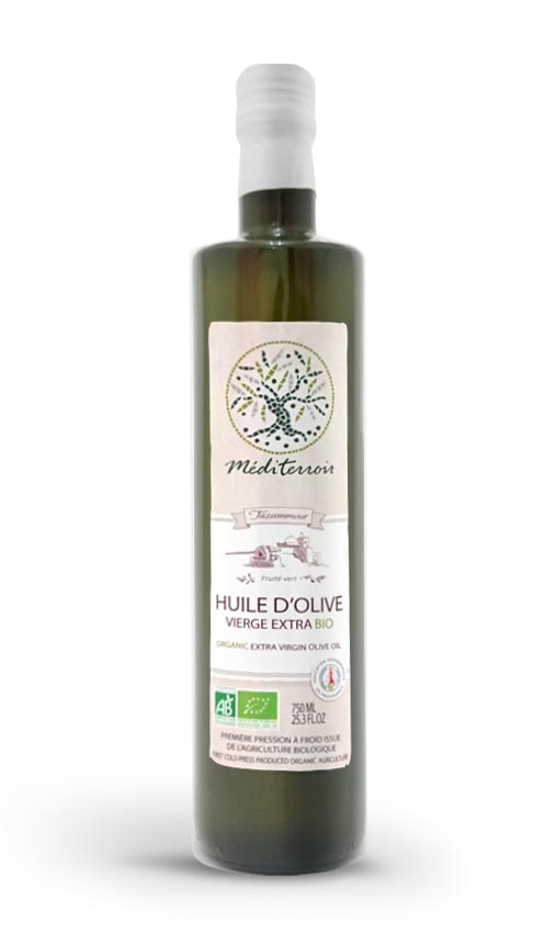 Huile d'olive bio Haut de gamme